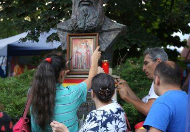 GALERIE FOTO: Sfinții Martiri Brâncoveni, comemorați de o Asociație. Autortățile nu s-au obosit