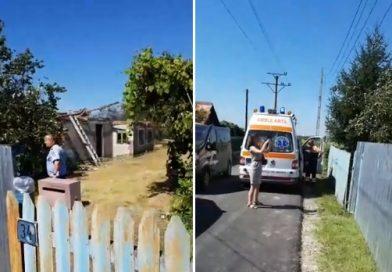 RĂZVAD: Un bărbat a murit prins sub dărâmăturile casei părintești