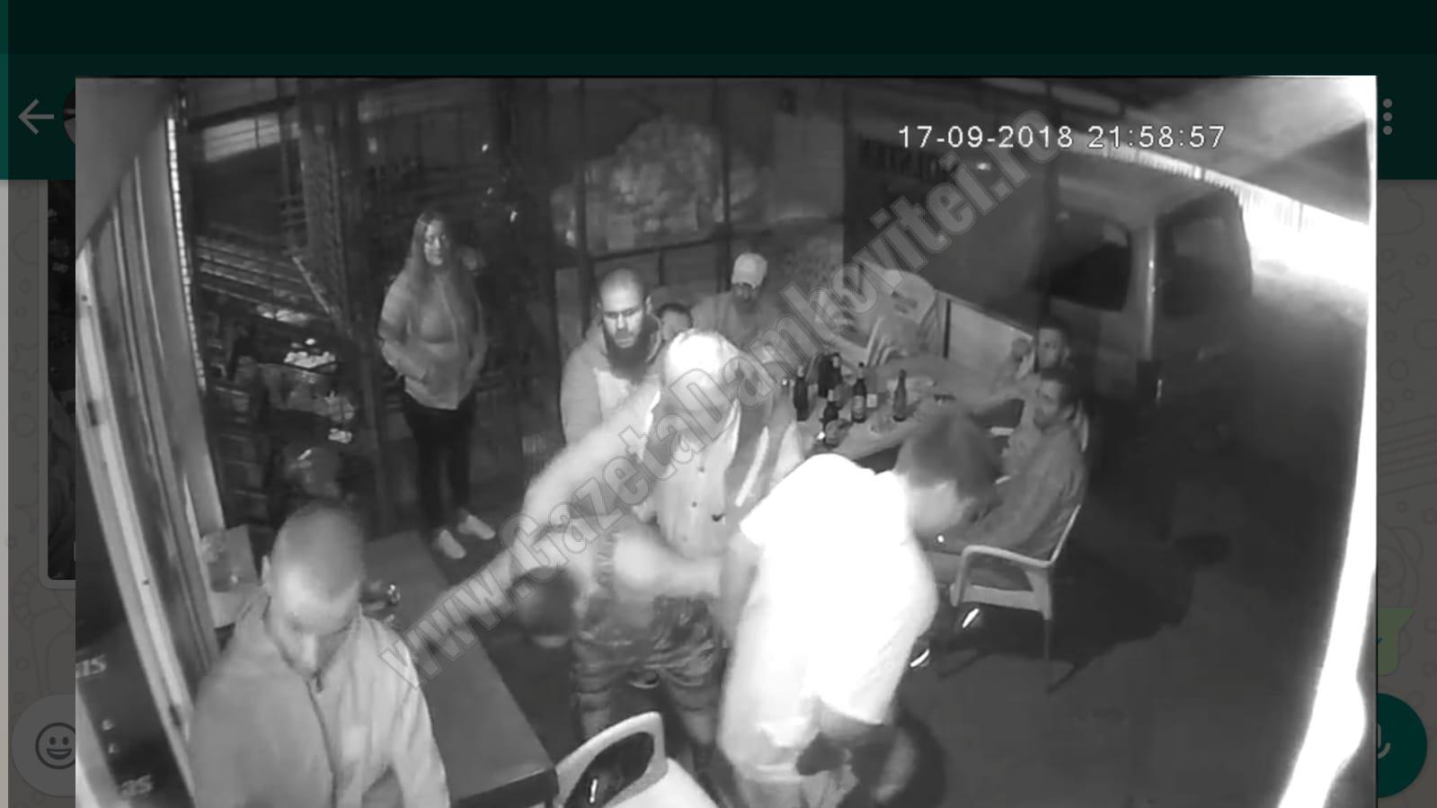 DÂMBOVIȚA: Scene violente într-o cârciumă! Doi bărbați și-au reglat conturile până aproape de crimă!