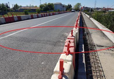 Podul de la Valea Voievozilor, grave probleme cu rosturile de dilatație