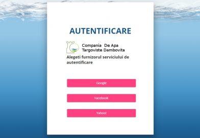 Clienții Companiei de Apă pot transmite indexul și verifica istoricul plăților și online
