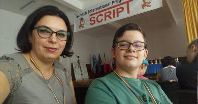 Tanislav Luca-Andrei, locul II la Concursul Internațional de Programare în Scratch Script