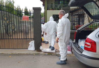 Autoritățile au închis focarul de pestă de la Lucieni
