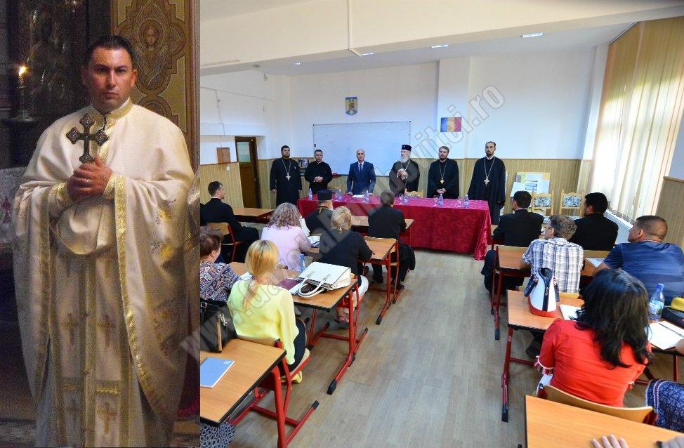 Profesorul doctor Marin Bugiulescu, noul director al Seminarului Teologic din Târgoviște