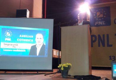 Aurelian Cotinescu a câștigat președinția PNL Târgoviște