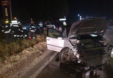 Trei femei rănite întrun accident pe DN 71, petrecut în miez de noapte