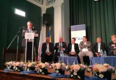 Președintele ALDE Dâmbovița Ionel Petre, prezent la Liga Aleșilor Locali (LAL)