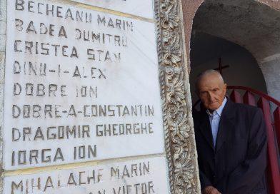 #DAMBOVITA100: Constantin Dobre, veteranul care și-a găsit numele pe monumentele celor morți în război