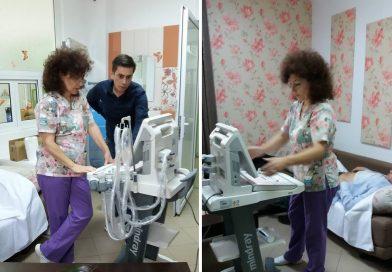 TÂRGOVIȘTE: Ecograf pentru Compartimentul de Îngrijiri Paliative, achiziționat din donații