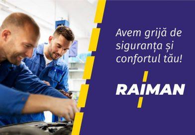 Oferta toamnei la Raiman Auto: 150 de lei reducere la pachetele de distribuție