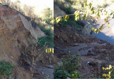 DE LA CITITORI: Râul Dâmbovița pune în pericol mai multe gospodării la Râncaciov