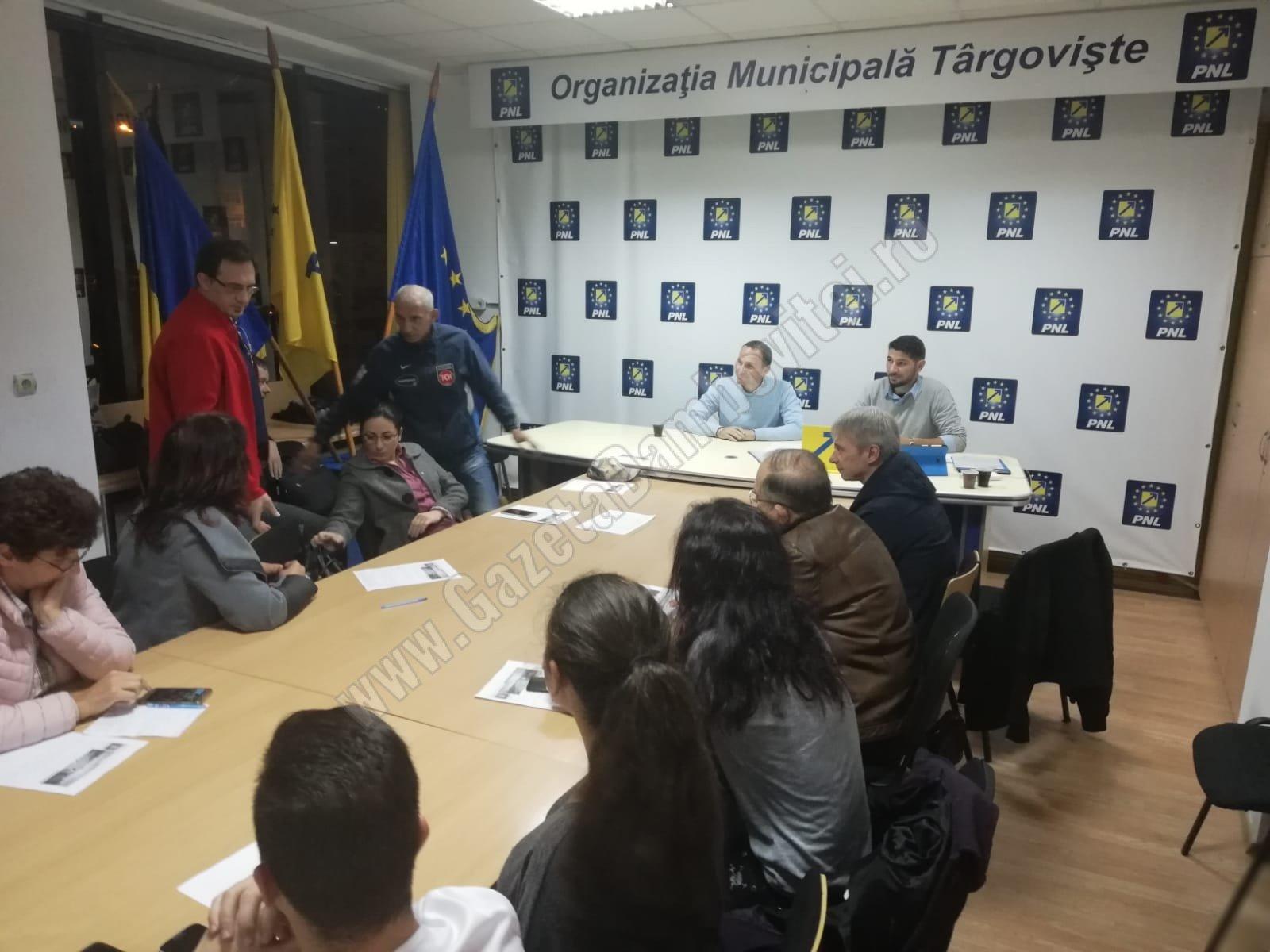 """Un nou proiect lansat de PNL Târgoviște – """"Târgoviște are viitor, o perspectivă liberală"""""""