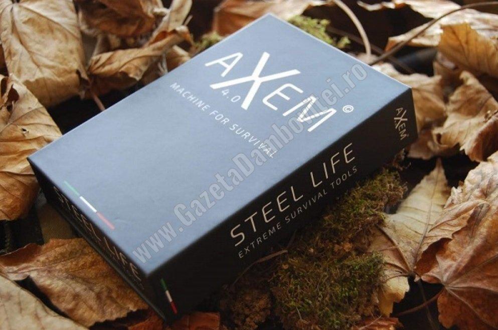 AXEM 4.0 – kitul care te ajută să supraviețuiești în sălbăticie!