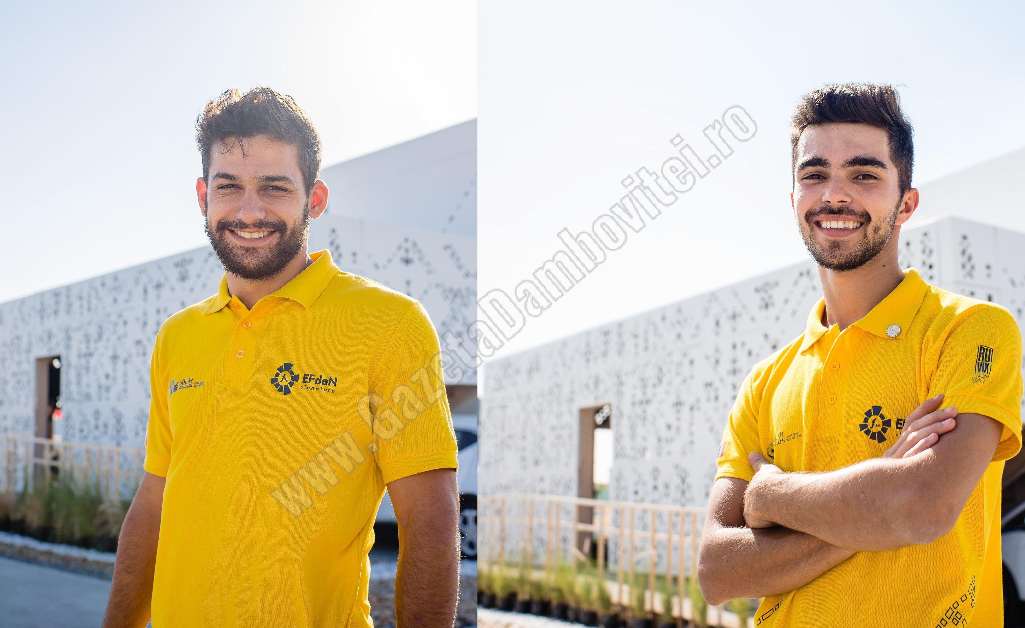Doi tineri dâmbovițeni reprezintă România la olimpiada caselor solare, în Dubai