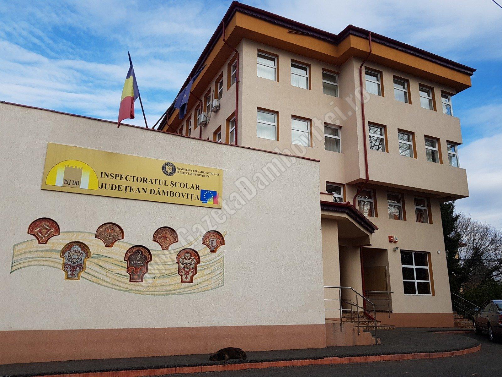 ISJ Dâmbovița: Informare privind funcționarea unităților de învățământ din județul Dâmbovița