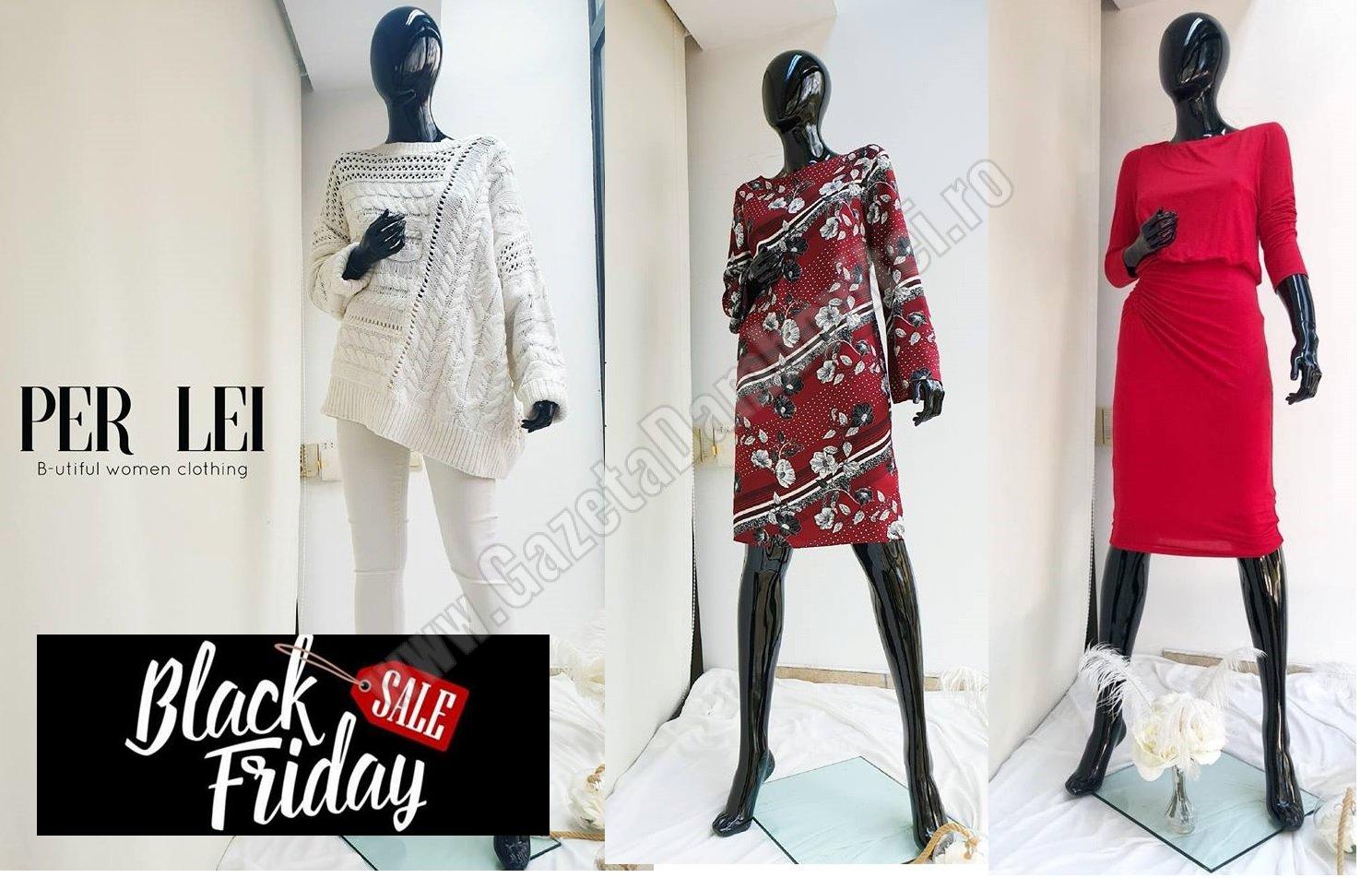 Black Friday la Per Lei! Reducere de 50% la produse românești, de înaltă calitate