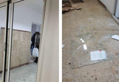 TÂRGOVIȘTE: Romii s-au îmbrâncit cu paznicii, la Spitalul Județean. Mai multe geamuri au fost sparte