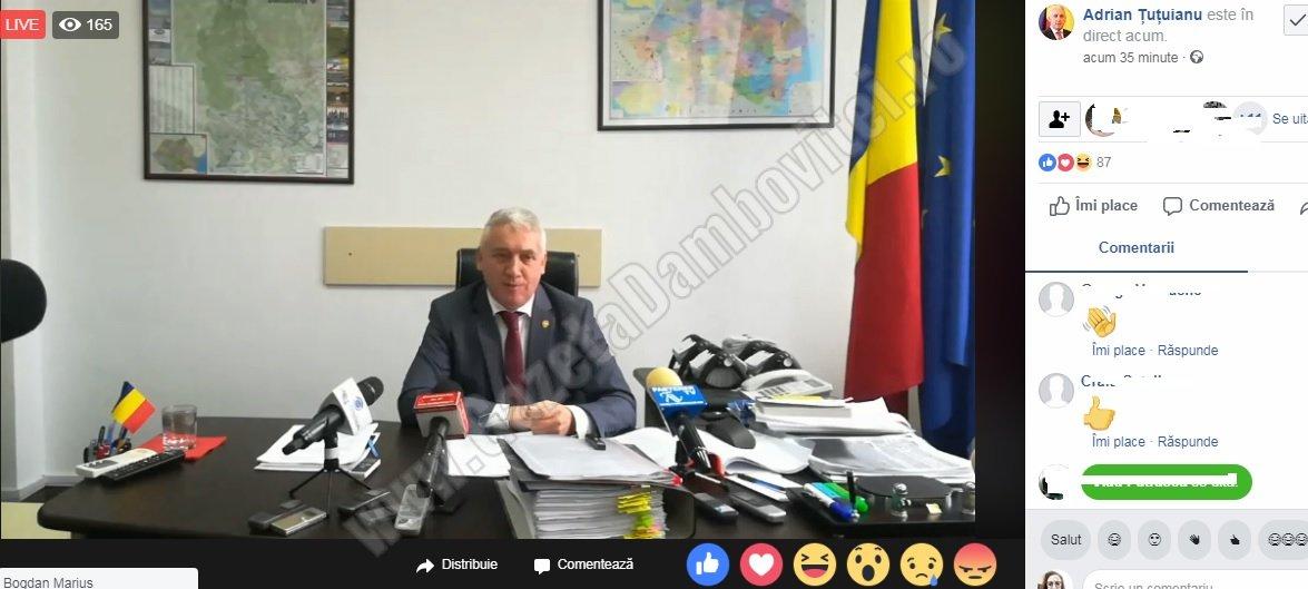 Adrian Țuțuianu – atacuri la Rovana, Dragnea și Oprea, în direct pe pagina sa de facebook