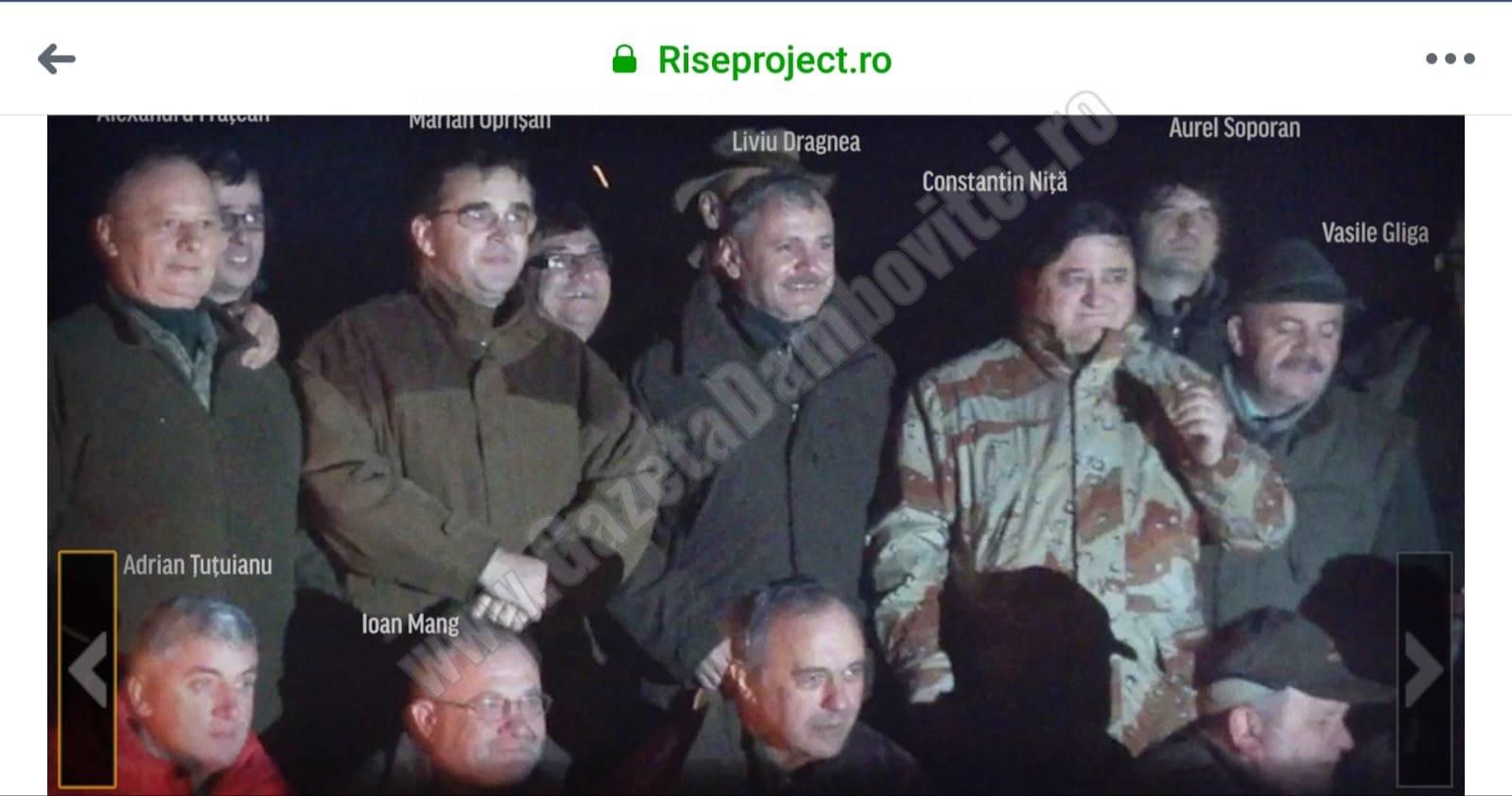 COINCIDENȚĂ? Tel Drum a obținut un contract generos în Dâmbovița, după vânătoarea la care a luat parte și