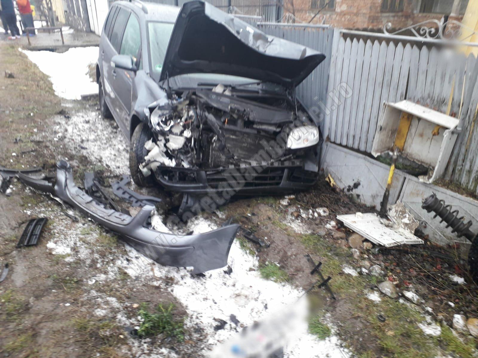 Un tânăr beat și fără permis era cât pe ce să provoace o explozie, la Bucșani