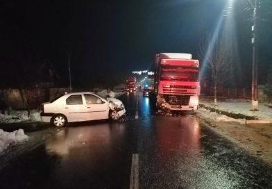 Accident la Corbii Mari pe DN 61. Două persoane rănite