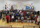 """Elevii și profesorii de """"Bălașa Doamna"""" au concertat în sprijinul a 48 de elevi cu părinții plecați din țară"""