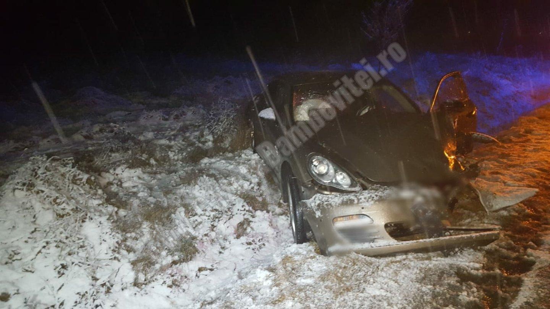 Polițiștii cu Loganul au prins hoții cu Porsche Panamera! Unul din suspecți fusese eliberat recent