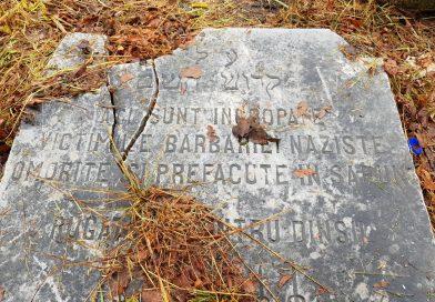 Monumentul săpunului, aproape dispărut. Bucăți de săpun din evrei uciși de naziști ar fi îngropate și la Târgoviște