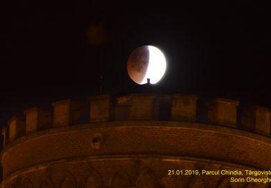 FOTO: Eclipsa totală de lună, în fotografiile membrilor SARM Târgoviște