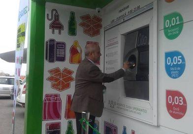 Mai multe stații de colectare selectivă, care plătesc pentru deșeuri, ar putea fi instalate în Târgoviște