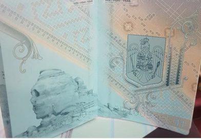 Sfinxul dâmbovițean apare în noul design al pașaportului românesc