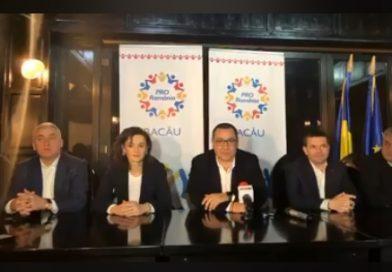 Adrian Țuțuianu s-a… pe presa dâmbovițeană și și-a anunțat, la Bacău, intrarea în Pro România