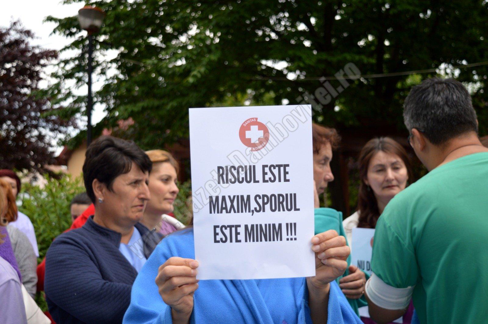 "Preşedintele SANITAS Dâmboviţa reclamă: ""Discriminare""… la sporuri"