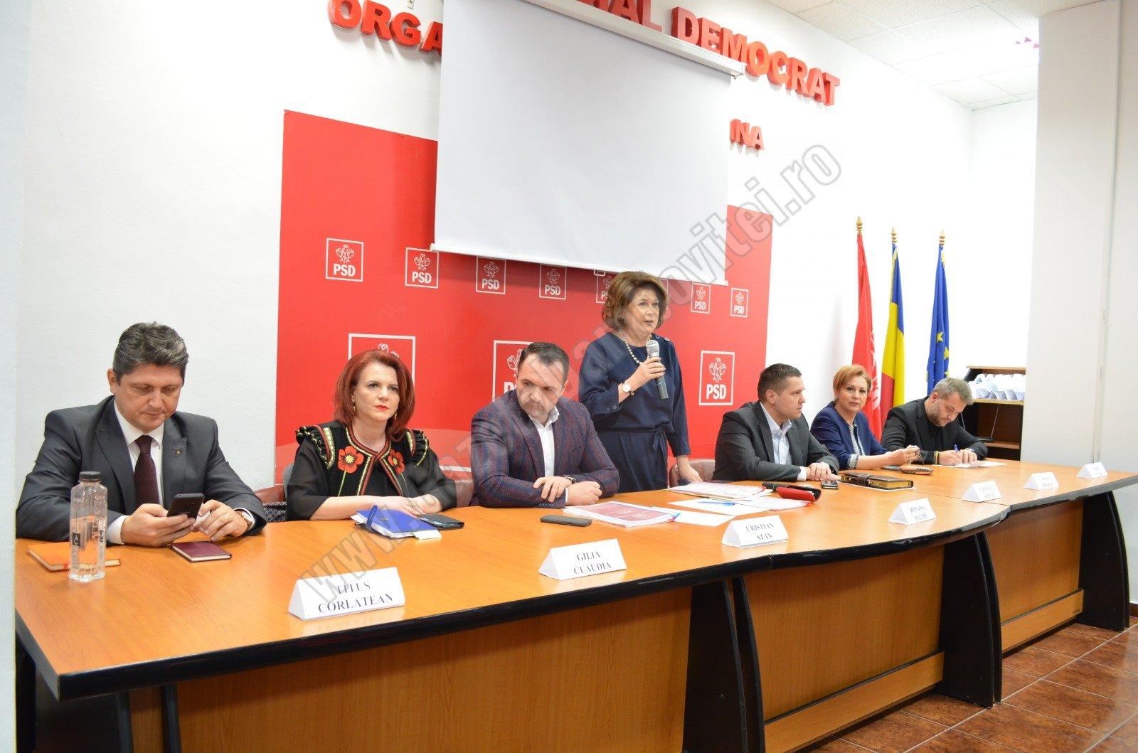 15 Martie Image: Alegeri în PSD Dâmbovița, Vineri, 15 Martie. Cine Candidează