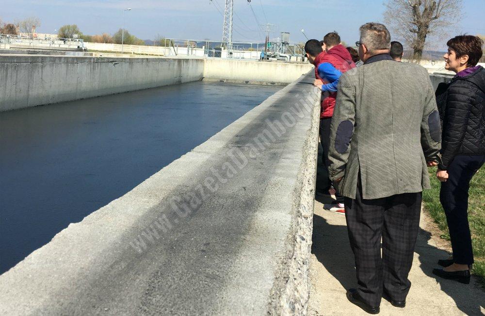 De Ziua Apei, Stația de Epurare Târgoviște Sud și-a deschis astăzi porțile pentru elevi și studenți