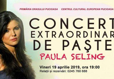 PUCIOASA: Paula Seling, concert extraordinar de Paște! Ce alte evenimente sunt programate în oraș