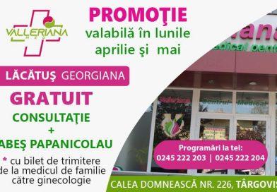 Fă-ți testul Babeș Papanicolau, gratuit, la Centrul Medical Valleriana!