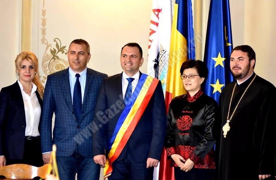 Ambasadorul Republicii Populare Chineze a vizitat Primăria Municipiului Târgovişte