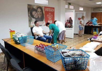 Organizația PSD Titu răspunde, din nou, solicitărilor Centrului de Transfuzie Dâmbovița