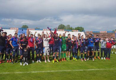 MOMENT ISTORIC: Chindia a promovat în Liga 1, după ce a învins pe Luceafărul Oradea!