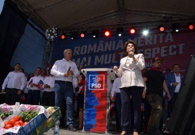 Liviu Dragnea a anunțat că PSD o va propune pe Rovana Plumb pentru funcția de comisar european