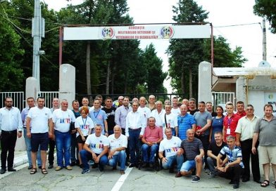 TÂRGOVIȘTE: Membri din 26 de sucursale AMVVD au fost prezenți la Adunarea Generală a asociației
