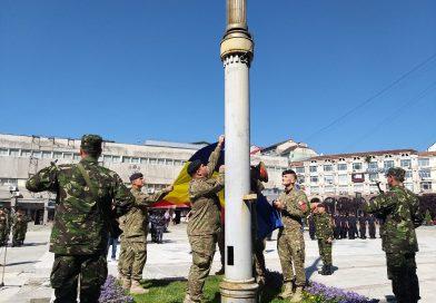 Ziua Drapelului Național, sărbătorită și la Târgoviște  cu discursuri și paradă militară