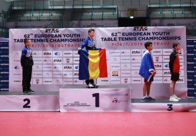 Un târgoviștean, campion european la tenis de masă