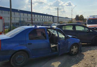 O persoană rănită într-un accident pe DN 7