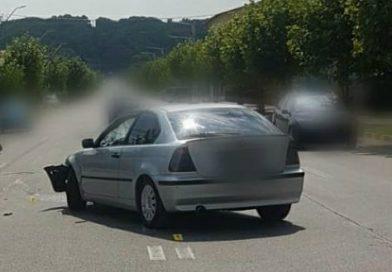 Accident la Moreni. Un motociclist rănit