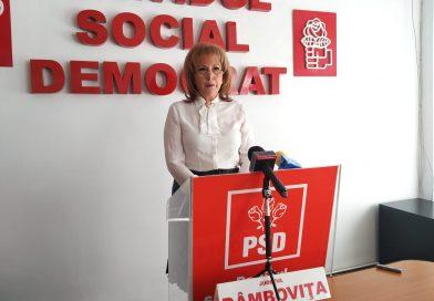 Carmen Holban, președinte executiv interimar al PSD Dâmbovița