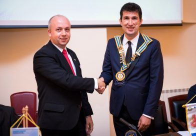 Rotary Club Târgoviște are un nou președinte!