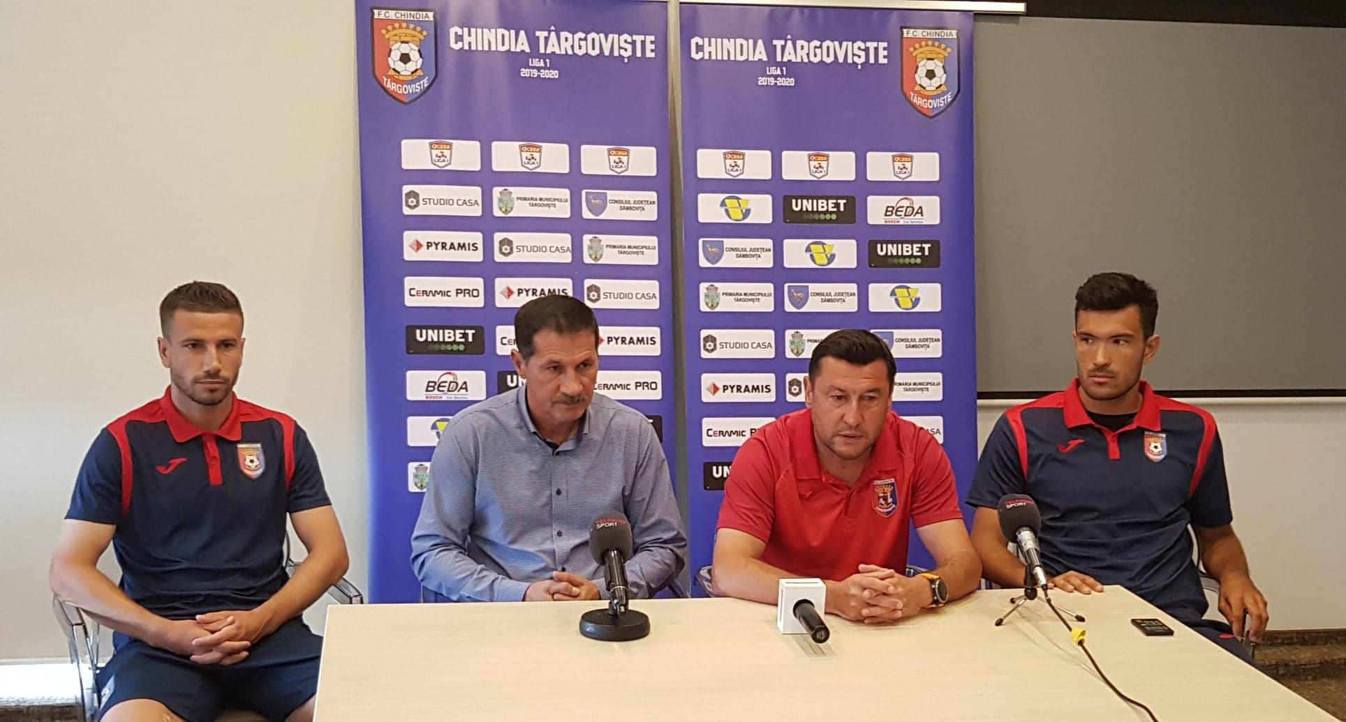 """""""Mâine pe teren vreau să văd caractere adevărate!"""" Vio Moldovan crede în victoria Chindiei cu Dinamo!"""