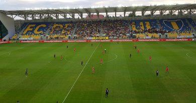 Chindia învinge Dinamo după 21 de ani! Atmosferă incredibilă pe Ilie Oană!